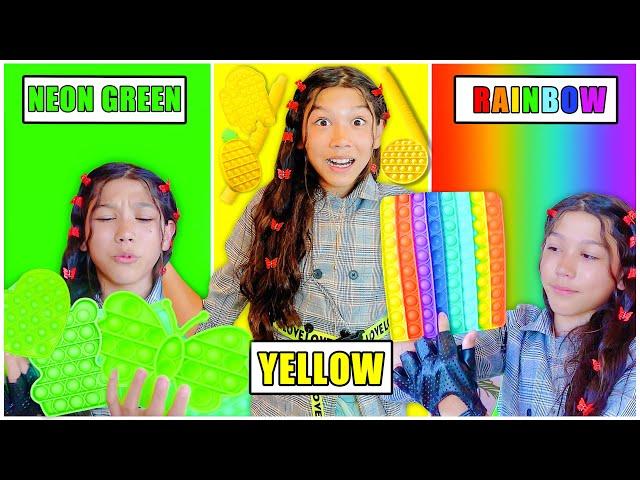 Txunamy's HUGE Fidget Haul By Color! -Part 2 | Txunamy