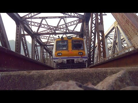 CAMERA UNDER TRAIN ( INDIAN MUMBAI LOCAL ) 2015 720P HD RESOLUTION