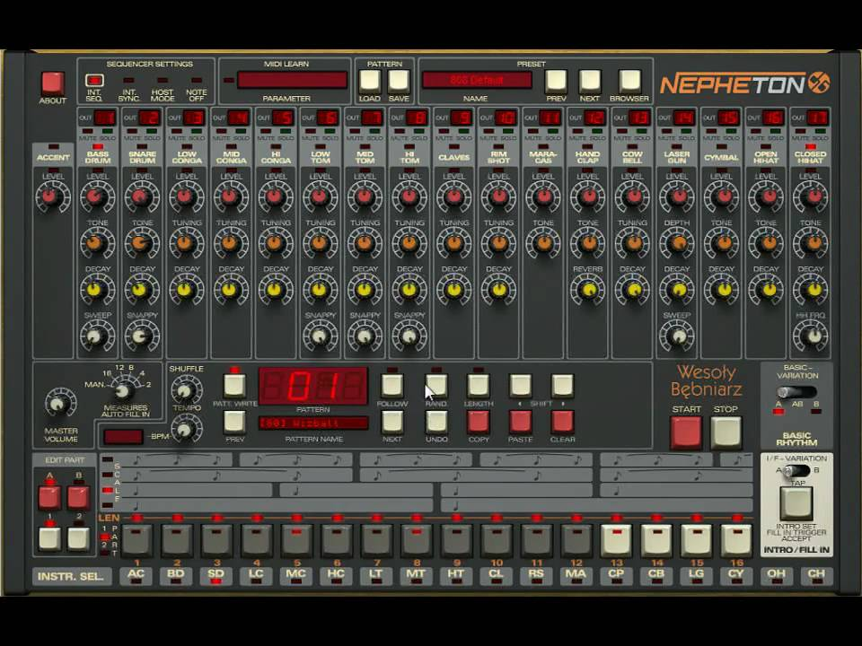 Classic Gear on a Budget - Emulating Roland's TR-808 / 909 Sounds ...