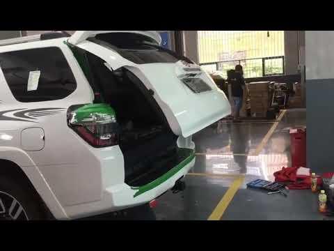 Puerta Trasera Electrica Toyota 4runner Intelligentized Auto Parts Hansshow