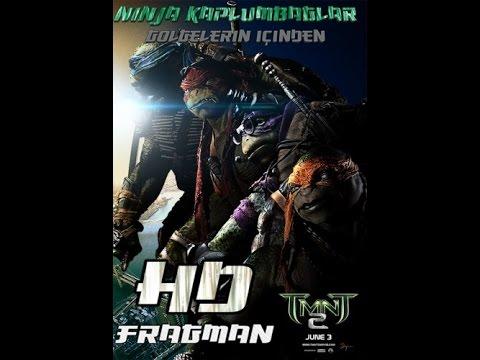 Ninja Kaplumbağalar 2:Gölgelerin İçinden •Türkçe Altyazılı Fragman • 2016