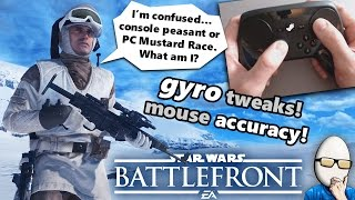 Steam Controller + Star Wars Battlefront How To Guide