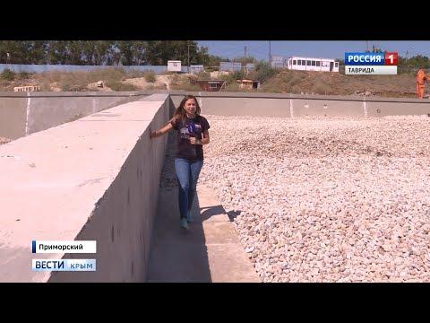 В Крыму по ФЦП строят стратегически важные объекты