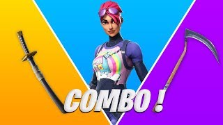 25 COMBO OF SKIN 'TRYHARD' ON FORTNITE BATTLE ROYALE! (Video 20k)