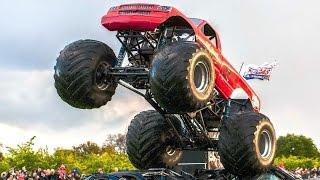 Монстр Трак Внедорожник Бигфут Мультики про машинки Monster Truck Bigfoot Мультфильмы для детей