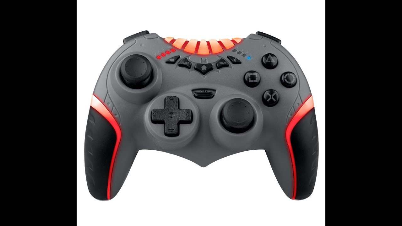 wireless batarang controller for ps3 unbox testing youtube. Black Bedroom Furniture Sets. Home Design Ideas