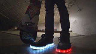 LED Skate Shoes!!