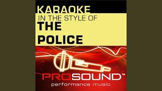 Da Do Do Do De Da Da Da (Karaoke With Background Vocals) (In the style of Police)