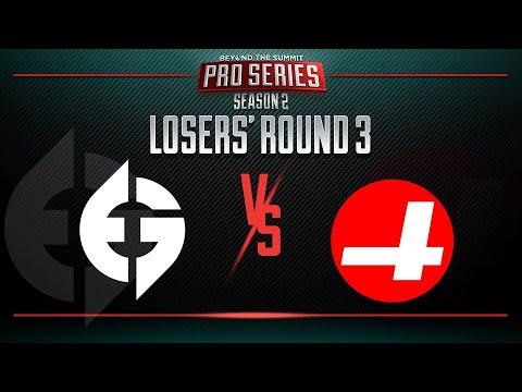 Evil Geniuses vs CR4ZY Game 1 - BTS Pro Series 2: Americas - Losers' Round 3 w/ T-Panda & Kips