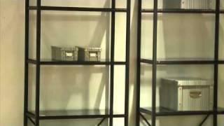 Euro Style Madrid 5-shelf & 3-shelf Unit