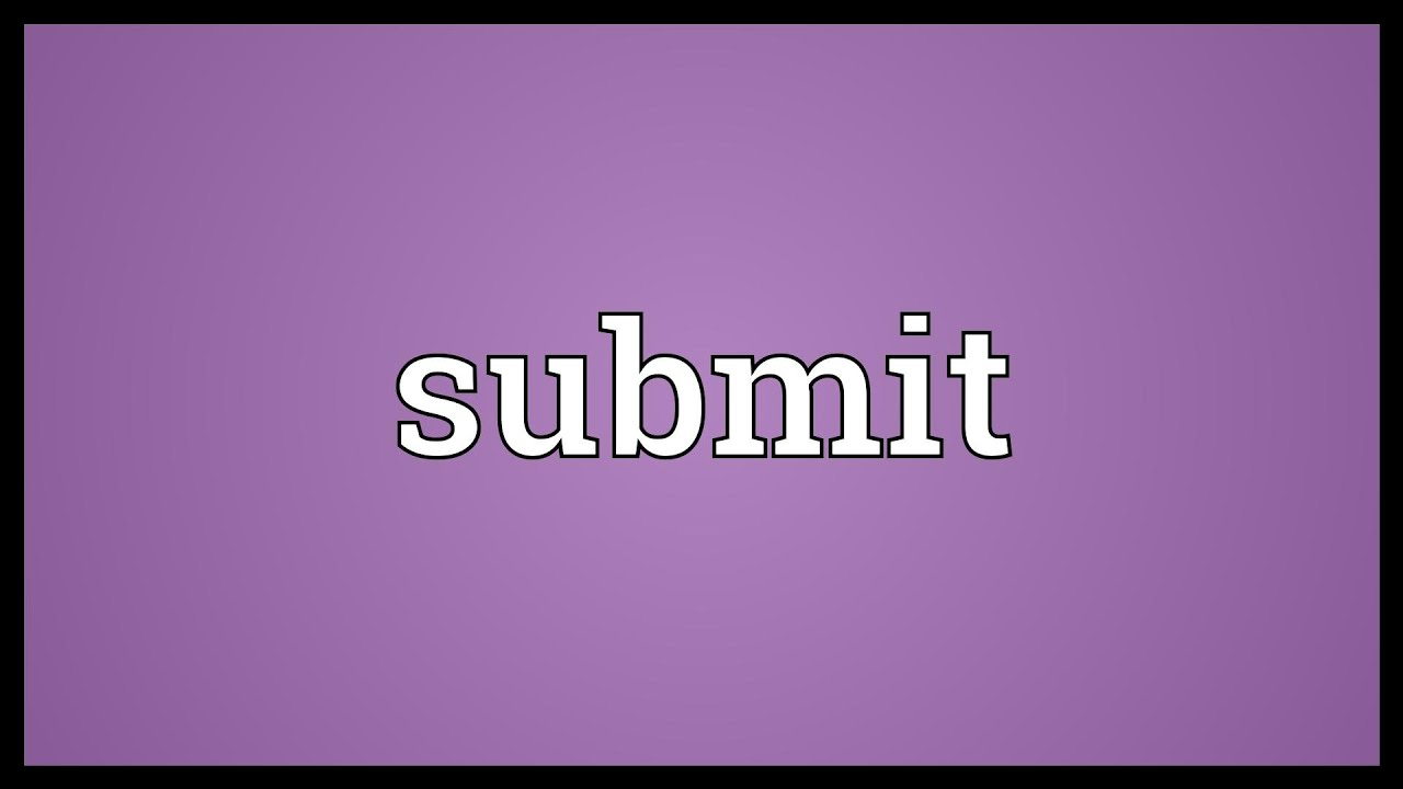 Submit Meaning