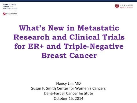 Triple negative breast cancer studies similar situation