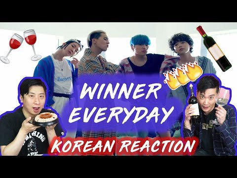 [LIT Action] Winner - Everyday (Korean Reaction)(Asian Reaction)