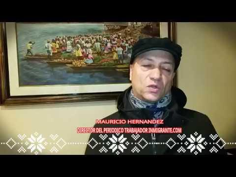 ENTORNO LATINO NY   SALUDO NAVIDEÑO MAURICIO HERNANDEZ