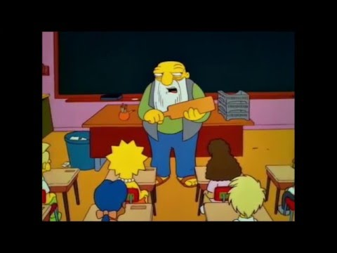 The Simpsons - Seymour Skinner vs Edna Krabappel