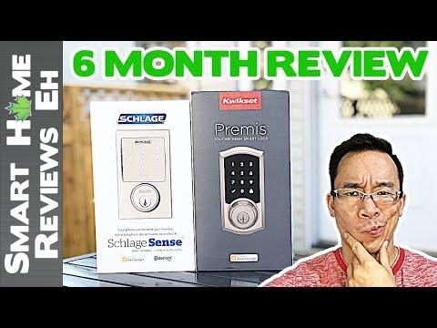 Long Term Review - Kwikset/Weiser Premis vs. Schlage Sense - Smart Home Door Lock Review/Comparison