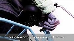 Mantteli- ja Jopo-pyörän kokoaminen