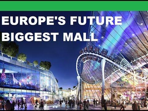 Paris Future Mega Mall Project - Europacity ($3.4 Billion) - Europe's Future Biggest Mall