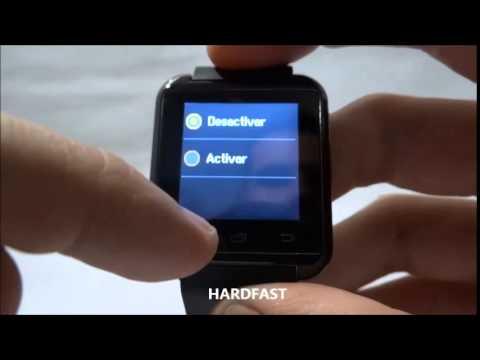 f3d029489c8 Relogio Bluetooth Smartwatch u8 Compativel Iphone e Android - YouTube