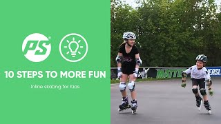 Inline skating for Kids - 10 steps to more fun - Powerslide