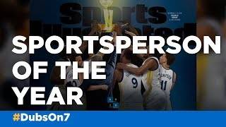 Warriors named Sports Illustrated's Sportsperson of the Year