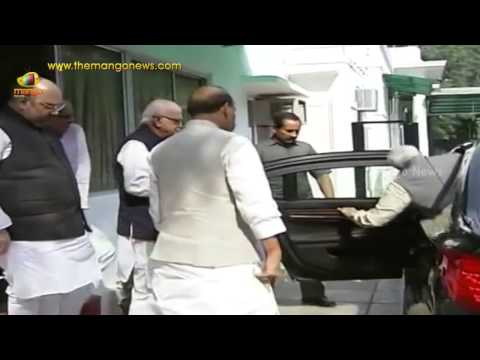 PM Modi, Rajnath Singh, Amit Shah greet LK Advani on 87th birthday