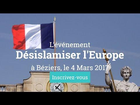Désislamiser l'Europe : Béziers 4 mars 2017