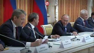 Ткачёв рассмешил Путина