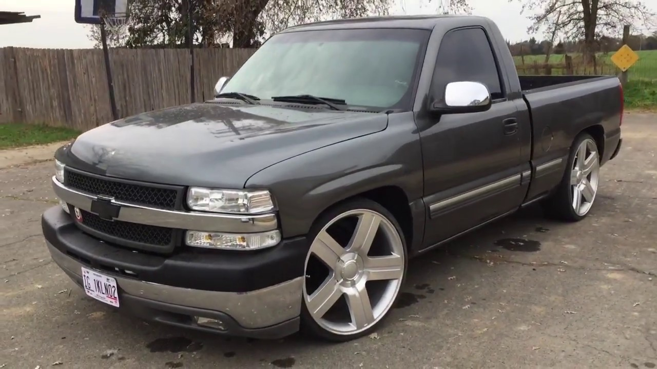 02 silverado on 24 s texas edition painted hood roof youtube 02 silverado on 24 s texas edition painted hood roof