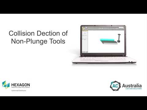 Non Plunge Tools Collision Detection | ALPHACAM Feature Highlight