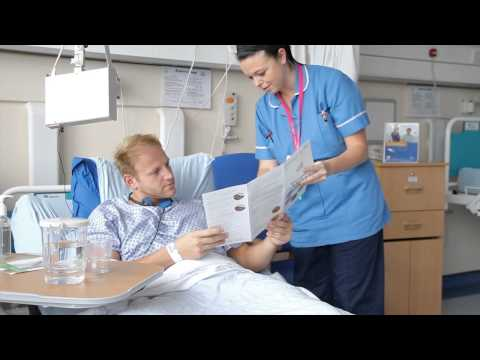 Being a patient at the Royal Liverpool University Hospital