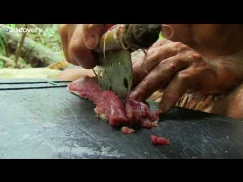 Slicing Goat - Ed Stafford: Naked and Marooned