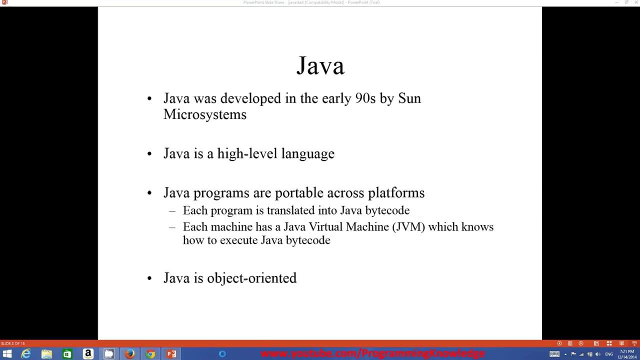 Java Tutorial For Beginners 1 - Introduction and Installing the java (JDK)  Step by Step Tutorial