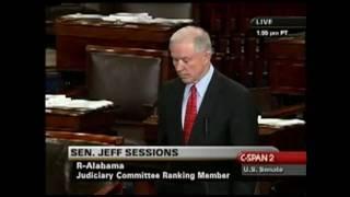 2009-09-29 - Jeff Sessions on Viken - Senate Debate on Empathy (74 of 90) Free HD Video