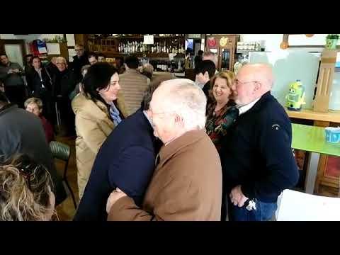 Núñez Feijóo mantiene un encuentro con vecinos de Vilalba