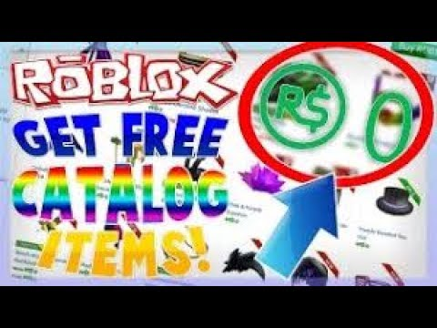how to get free things on roblox catalog