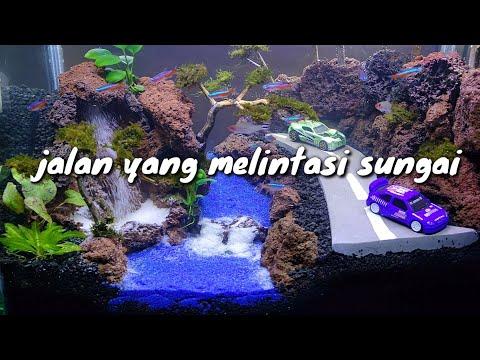 Step by step membuat aquascape air terjun untuk pemula | Doovi