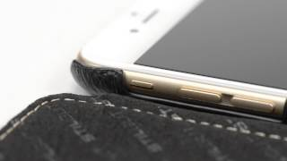 Custodia iPhone 6 stile libro senza clip - StilGut