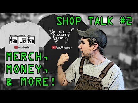 [Shop Talk #2] WebWheeler Gear, Money From YouTube, And More!