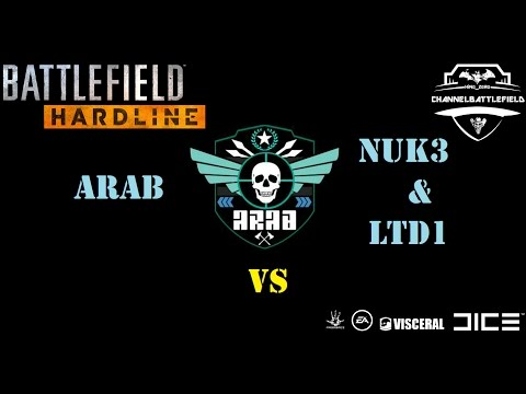 ARAB VS Nuk3 & LTD1 Challenge Rescue Battlefield hardline  تحدي كلان عرب
