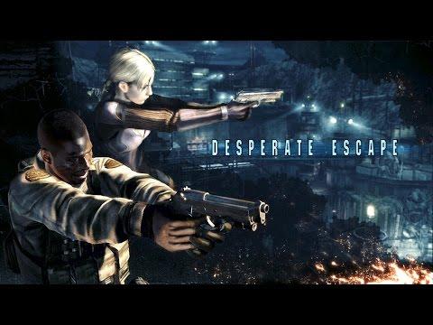 Resident Evil 5 Gold Edition Perfect Walkthrough - Desperate Escape - Jill - Veteran - No Damage