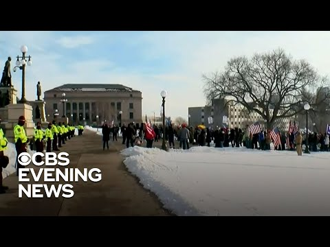 Washington, D.C. fortifies security ahead of Biden inauguration