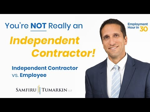 Independent Contractor vs  Employee: What