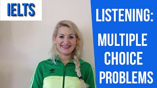 IELTS Listening: TIPS for Multiple Choice PROBLEMS- english video