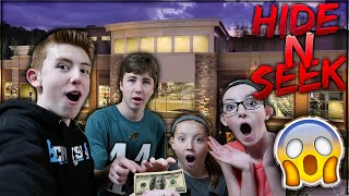 HIDE & SEEK at HUGE 2 Story GYM!! (CASH PRIZE) {feat. Sassy Sammy, YourHired and Maddy}