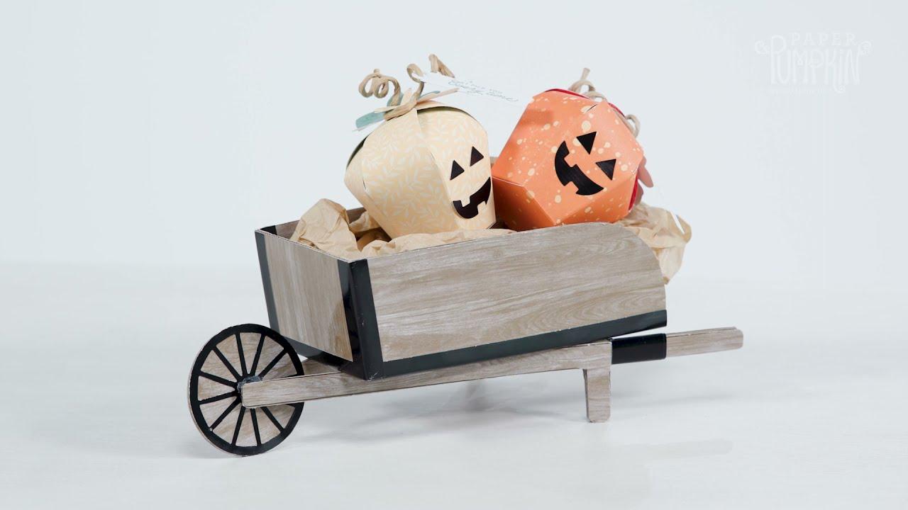 Download BONUS PROJECT: Paper Pumpkin Wheelbarrow September 2021