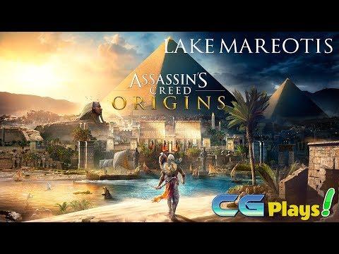 Assassin's Creed Origins World Exploration Gameplay - Lake Mareotis #10