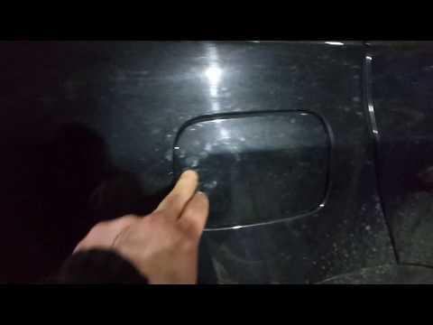 БМВ - Как открыть люк бензобака.