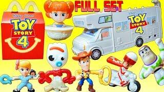 Макдональдс щасливий їжа іграшки повний комплект Історія Іграшок 4 герцог Caboom бойові вилки Габбі Базз іграшки будувати РВ