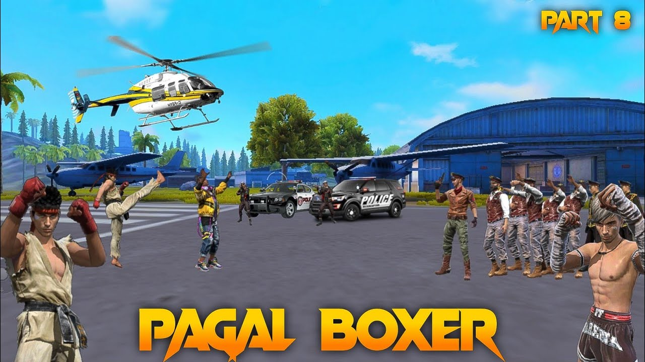 Pagal Boxer 🤼 Part 8 [पागल मुक्केबाज] Free Fire Short Emotional Story in Hindi || Free Fire Story